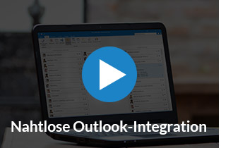 Video: Nahtlose Integration in Microsoft Outlook